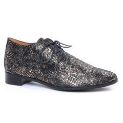 Chaussures femme hiver 2019 - derbys Émilie Karston gris noir