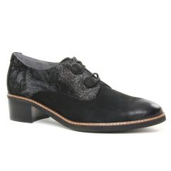 Fugitive Salco Noir : chaussures dans la même tendance femme (derbys noir) et disponibles à la vente en ligne