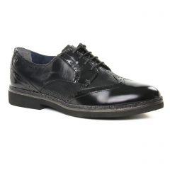 derbys noir vernis: même style de chaussures en ligne pour femmes que les Rieker