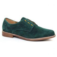 derbys vert kaki: même style de chaussures en ligne pour femmes que les Émilie Karston
