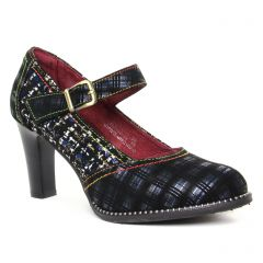 escarpins bleu multi: même style de chaussures en ligne pour femmes que les Tamaris