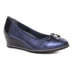 ballerines-talons-compenses bleu marine: même style de chaussures en ligne pour femmes que les Marco Tozzi