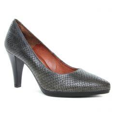 Chaussures femme hiver 2019 - escarpins confort Karston Air gris serpent