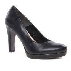 Chaussures femme hiver 2019 - escarpins tamaris noir mat
