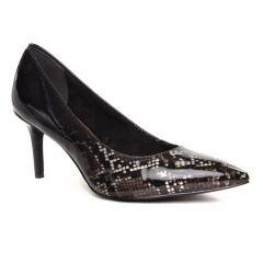Chaussures femme hiver 2019 - escarpins tamaris noir python