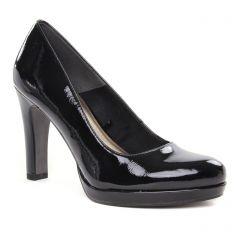 escarpins noir vernis: même style de chaussures en ligne pour femmes que les Marco Tozzi