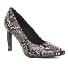 escarpins serpent gris: même style de chaussures en ligne pour femmes que les Marco Tozzi