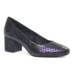 escarpins-trotteur bleu: même style de chaussures en ligne pour femmes que les Marco Tozzi