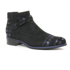 low-boots noir bleu: même style de chaussures en ligne pour femmes que les Regarde Le Ciel