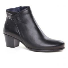 low-boots noir: même style de chaussures en ligne pour femmes que les Mamzelle