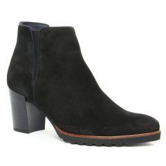 Chaussures femme hiver 2019 - boots élastiquées Dorking noir