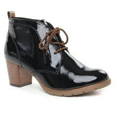 Chaussures femme hiver 2019 - low boots marco tozzi noir