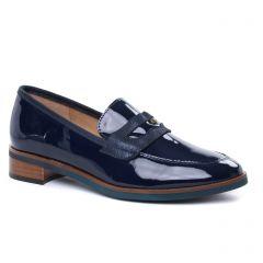 mocassins bleu marine: même style de chaussures en ligne pour femmes que les Émilie Karston
