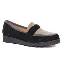 mocassins noir beige: même style de chaussures en ligne pour femmes que les Sweet