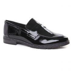 Chaussures femme hiver 2019 - mocassins marco tozzi noir vernis