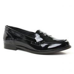 mocassins noir vernis: même style de chaussures en ligne pour femmes que les Rieker