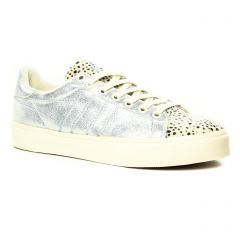 tennis blanc argent: même style de chaussures en ligne pour femmes que les Gola