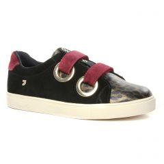 tennis noir léopard: même style de chaussures en ligne pour femmes que les Remonte