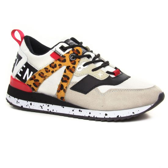Tennis Et Baskets Mode Sixty Seven 30274 Leopard Blanc, vue principale de la chaussure femme