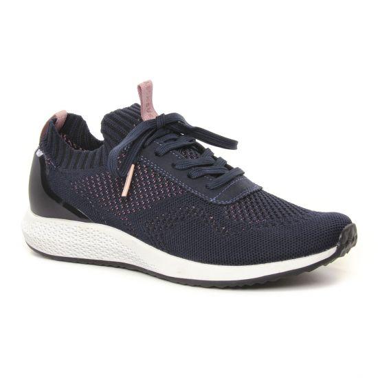 Tennis Et Baskets Mode Tamaris 23714 Navy, vue principale de la chaussure femme
