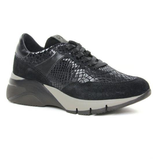 Tennis Et Baskets Mode Tamaris 23782 Black Comb, vue principale de la chaussure femme
