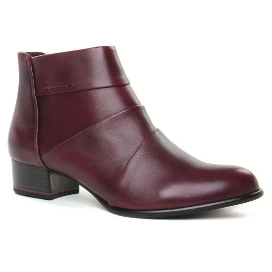 Bottines Et Boots Tamaris 25366 Bordeaux, vue principale de la chaussure femme