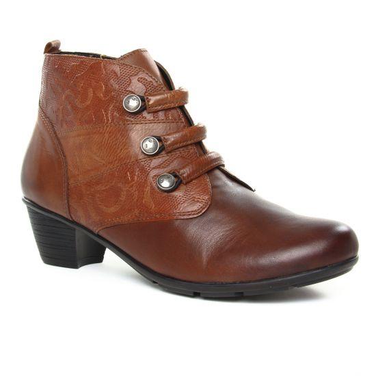 Bottines Et Boots Remonte R7577-24 Chestnut, vue principale de la chaussure femme