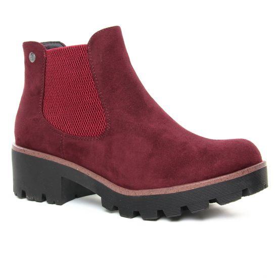 Bottines Et Boots Rieker 99284-35 Vino, vue principale de la chaussure femme