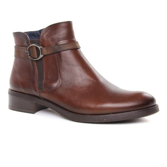 Bottines Et Boots Dorking D8003 Nut, vue principale de la chaussure femme