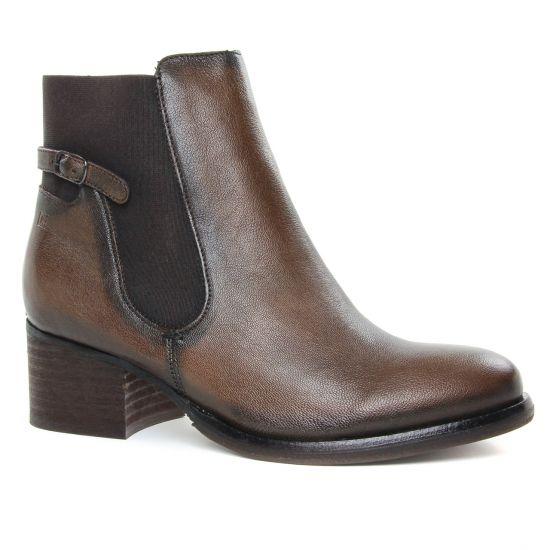 Bottines Et Boots Dorking Roser D8062 Asfalto, vue principale de la chaussure femme