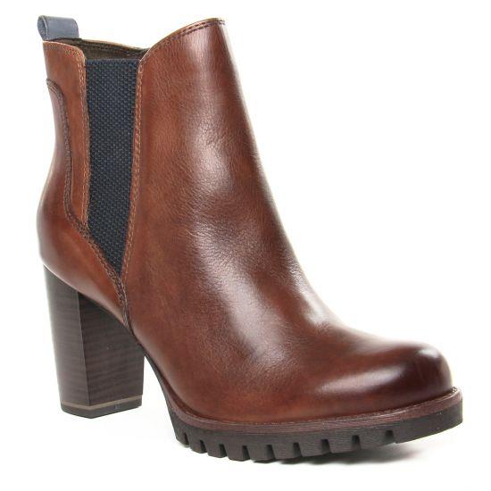 Bottines Et Boots Marco Tozzi 25823 Cognac Ant Com, vue principale de la chaussure femme
