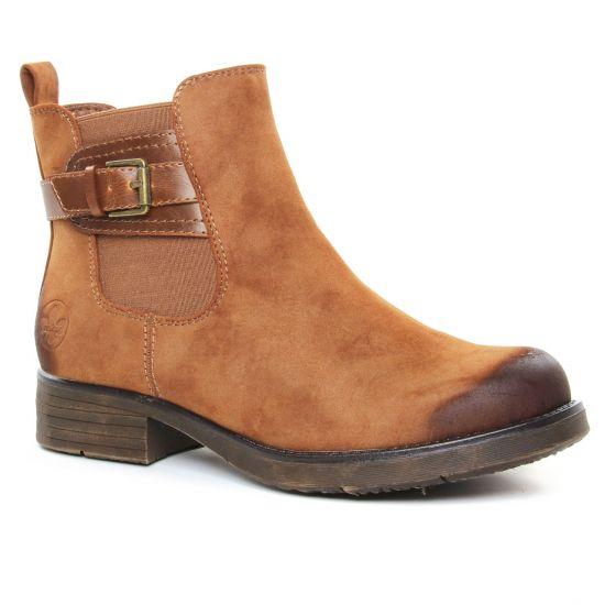 Bottines Et Boots Rieker 91253-24 Mogano, vue principale de la chaussure femme