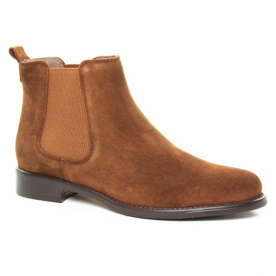 Bottines Et Boots Scarlatine 77545Bc Tabacco, vue principale de la chaussure femme