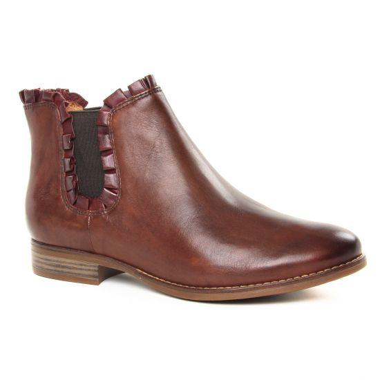 Bottines Et Boots Tamaris 25312 Chestnut Bord, vue principale de la chaussure femme