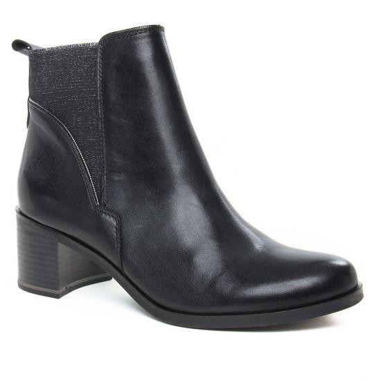 Bottines Et Boots Marco Tozzi 25324 Black Ant Comb, vue principale de la chaussure femme