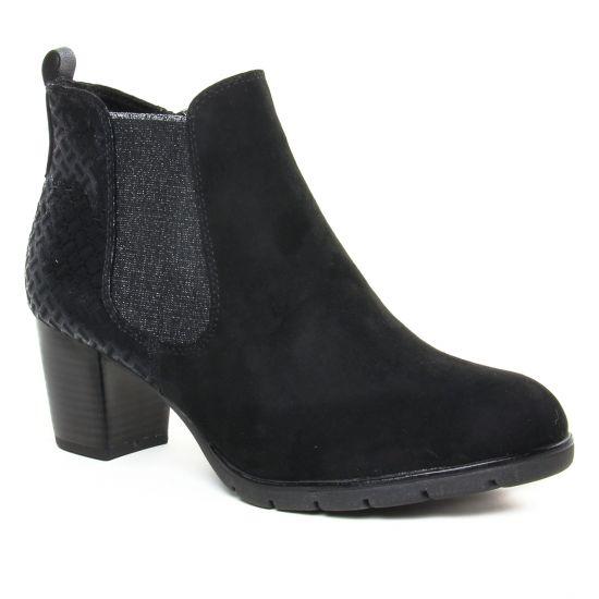 Bottines Et Boots Marco Tozzi 25355 Black Comb, vue principale de la chaussure femme