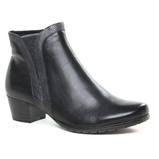 Bottines Et Boots Marco Tozzi 25368 Black Ant Comb, vue principale de la chaussure femme