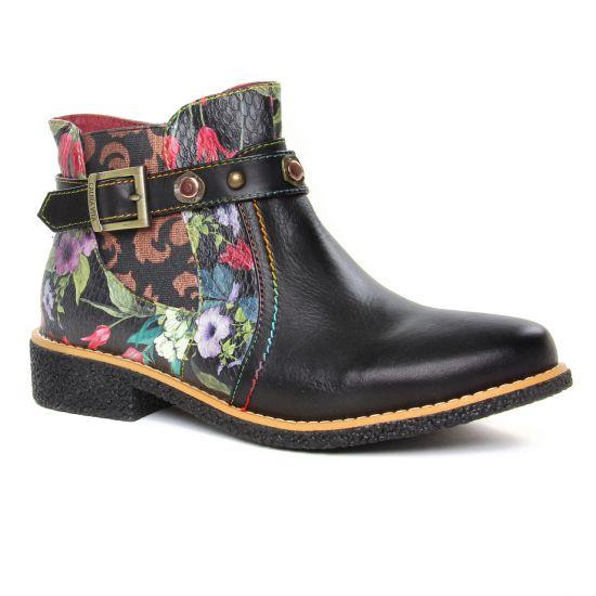 Bottines Et Boots Laura Vita Cocralieo 06 Noir, vue principale de la chaussure femme