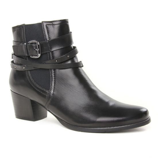 Bottines Et Boots Regarde Le Ciel Isabel26 Noir, vue principale de la chaussure femme