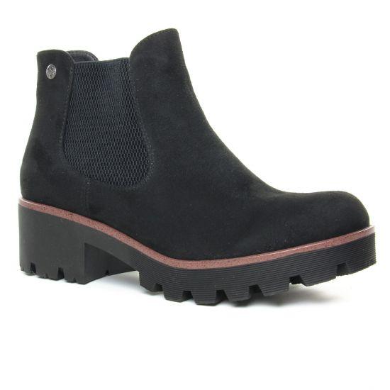 Bottines Et Boots Rieker 99284-00 Black, vue principale de la chaussure femme