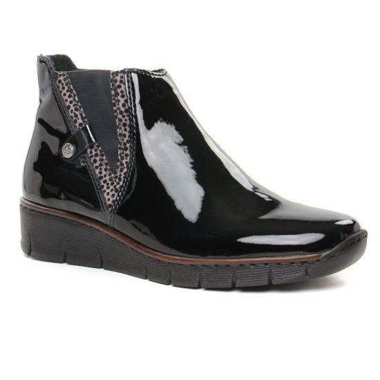 Bottines Et Boots Rieker 73771-00 Schwarz, vue principale de la chaussure femme