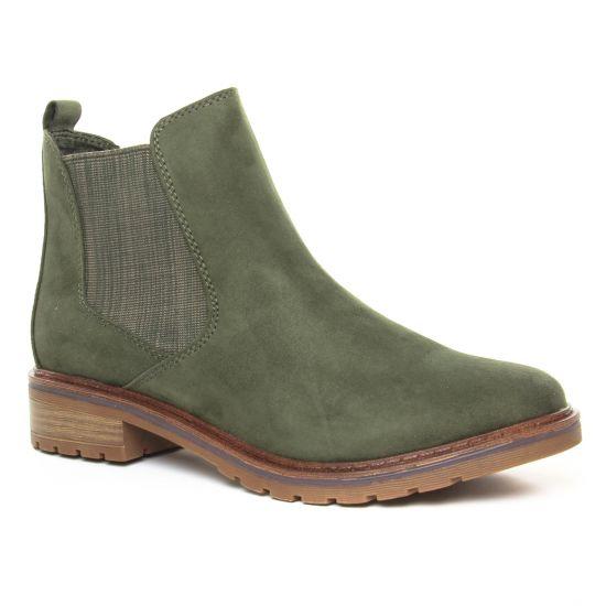 Bottines Et Boots Marco Tozzi 25490 Khaki Comb, vue principale de la chaussure femme