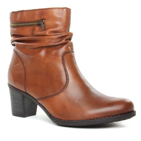 Bottines Et Boots Rieker Z7651-24 Brown, vue principale de la chaussure femme