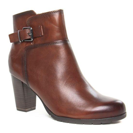 Bottines Et Boots Marco Tozzi 25372 Cognac Antic, vue principale de la chaussure femme