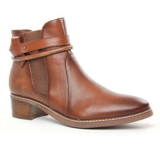 Bottines Et Boots Fugitive Samia Brown, vue principale de la chaussure femme