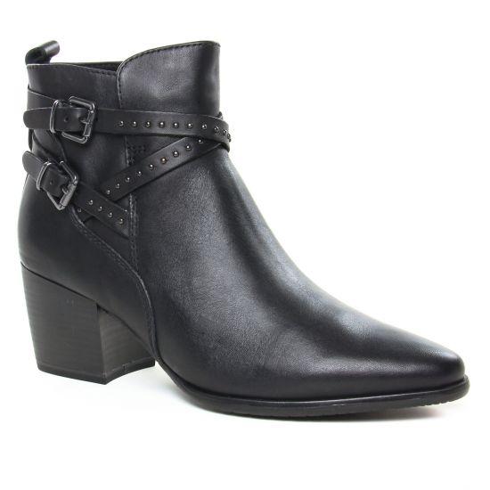 Bottines Et Boots Marco Tozzi 25315 Black Antic, vue principale de la chaussure femme