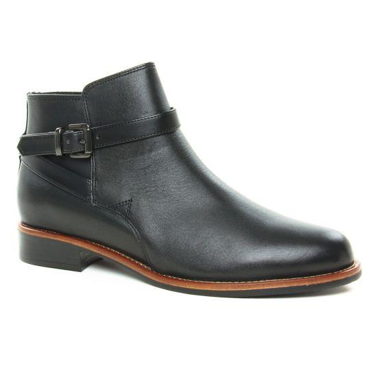 Bottines Et Boots Scarlatine 77579P Noir, vue principale de la chaussure femme