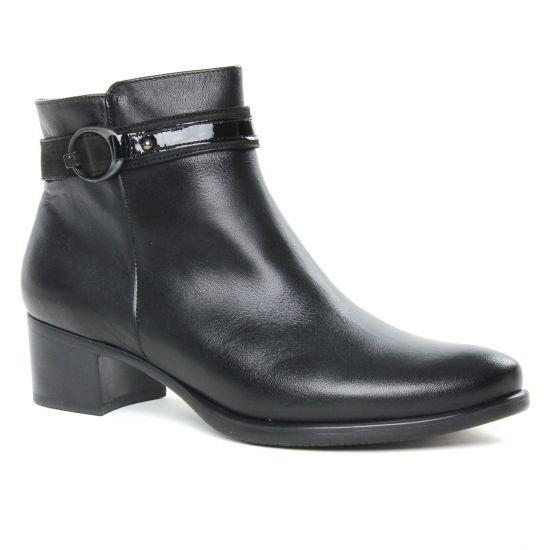 Bottines Et Boots Dorking Alegria D7952 Noir, vue principale de la chaussure femme