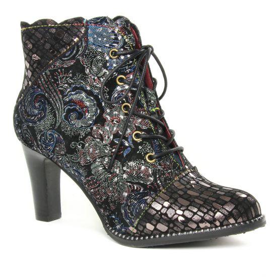 Bottines Et Boots Laura Vita Alcbaneo 1279 Noir, vue principale de la chaussure femme