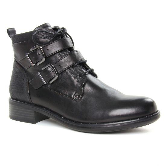 Regarde Le Ciel Roxana 09 Noir | boots noir automne hiver